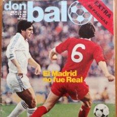 Coleccionismo deportivo: DON BALON REAL MADRID FINAL COPA EUROPA 1981. Lote 180456020