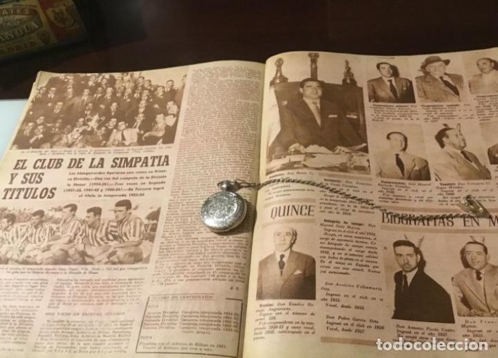 Coleccionismo deportivo: Antiguo marca 1958 bodas de oro del Real Betis balompié totalmente original - Foto 5 - 180517250