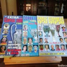 Coleccionismo deportivo: DON BALON. EXTRA COPAS EUROPEAS 1998 A 2006. Lote 180905491