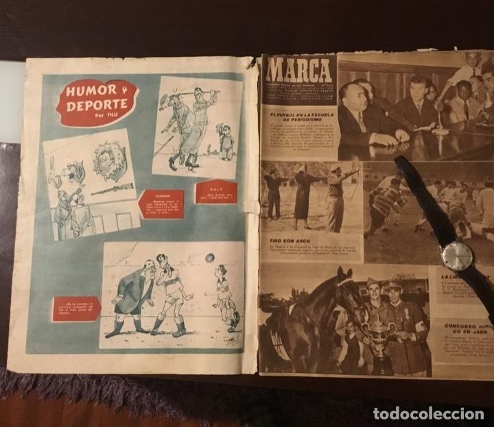 Coleccionismo deportivo: Di Stefano y Kubala revista marca 1953 - Foto 4 - 180974788