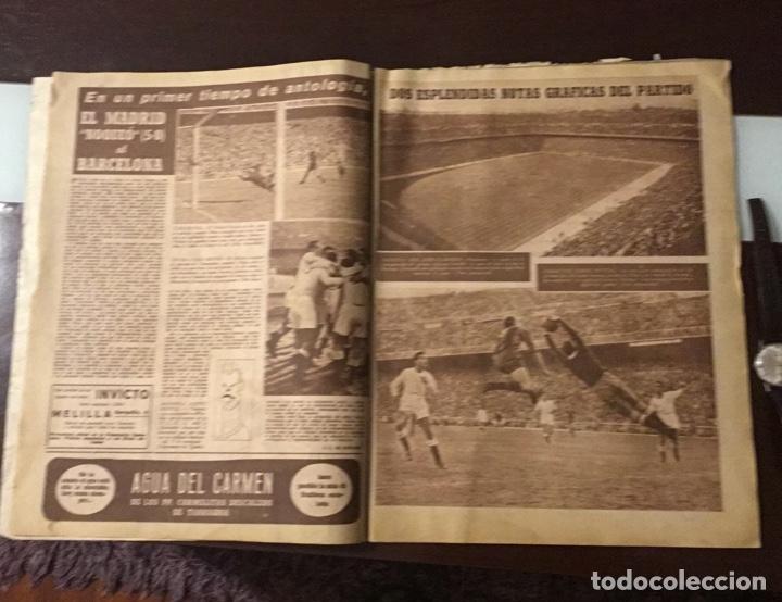 Coleccionismo deportivo: Di Stefano y Kubala revista marca 1953 - Foto 6 - 180974788