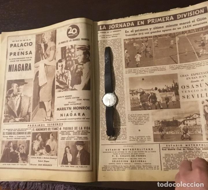 Coleccionismo deportivo: Di Stefano y Kubala revista marca 1953 - Foto 8 - 180974788