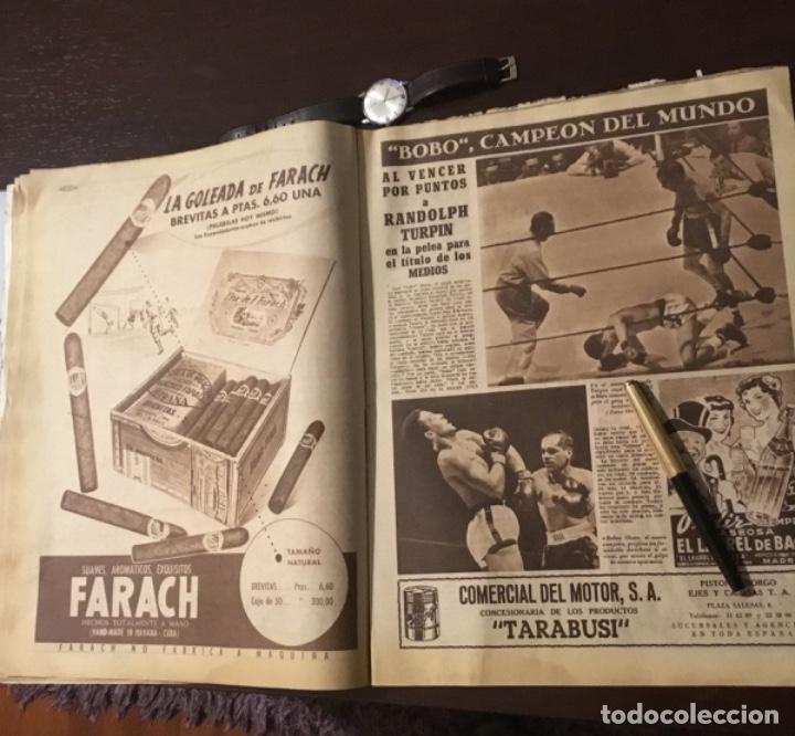 Coleccionismo deportivo: Di Stefano y Kubala revista marca 1953 - Foto 9 - 180974788
