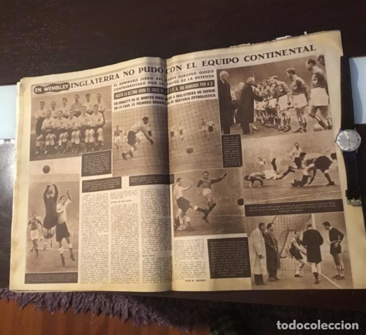 Coleccionismo deportivo: Di Stefano y Kubala revista marca 1953 - Foto 10 - 180974788