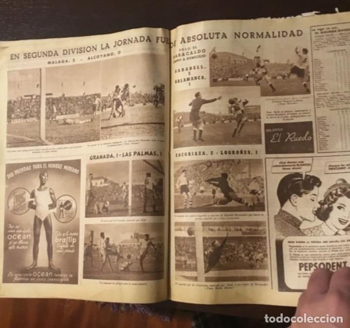 Coleccionismo deportivo: Di Stefano y Kubala revista marca 1953 - Foto 11 - 180974788