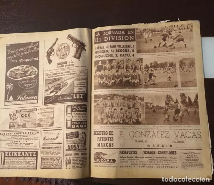 Coleccionismo deportivo: Di Stefano y Kubala revista marca 1953 - Foto 12 - 180974788