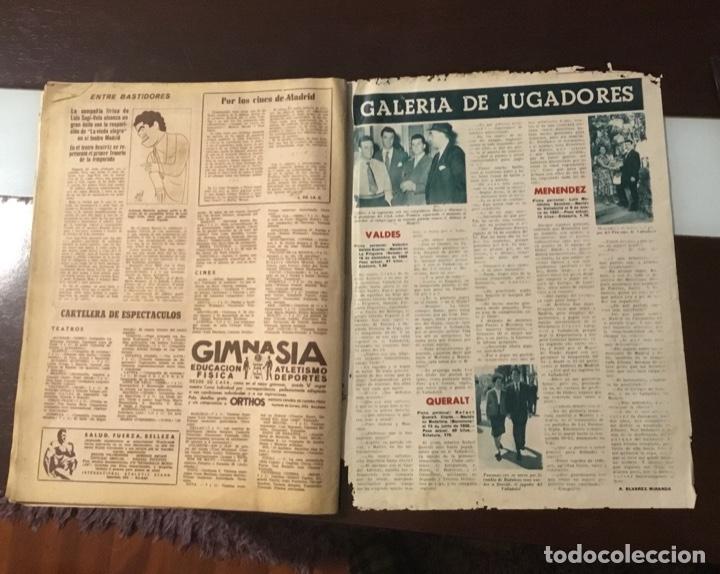 Coleccionismo deportivo: Di Stefano y Kubala revista marca 1953 - Foto 13 - 180974788