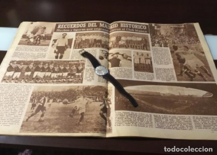 Coleccionismo deportivo: Bodas de oro del Real Madrid 1952 antigua revista marca fútbol - Foto 7 - 180993322