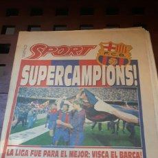 Coleccionismo deportivo: BARÇA CAMPEON DE LIGA 1992. Lote 181109196
