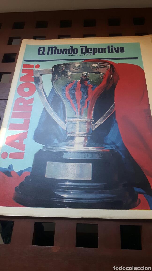 BARÇA CAMPEON DE LIGA 1985 (Coleccionismo Deportivo - Revistas y Periódicos - Mundo Deportivo)