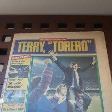 Coleccionismo deportivo: BARÇA FINAL COPA DE EUROPA 1986. Lote 181112193