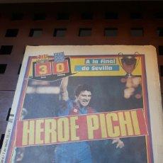 Coleccionismo deportivo: BARÇA FINAL COPA EUROPA 1986. Lote 181112497