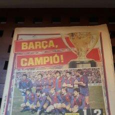 Coleccionismo deportivo: BARÇA CAMPEON DE LIGA 1985. Lote 181112771