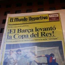 Coleccionismo deportivo: BARÇA CAMPEON COPA DEL REY 1990. Lote 181114606