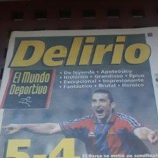 Coleccionismo deportivo: BARÇA SEMIFINAL COPA REY 1997. Lote 181132571