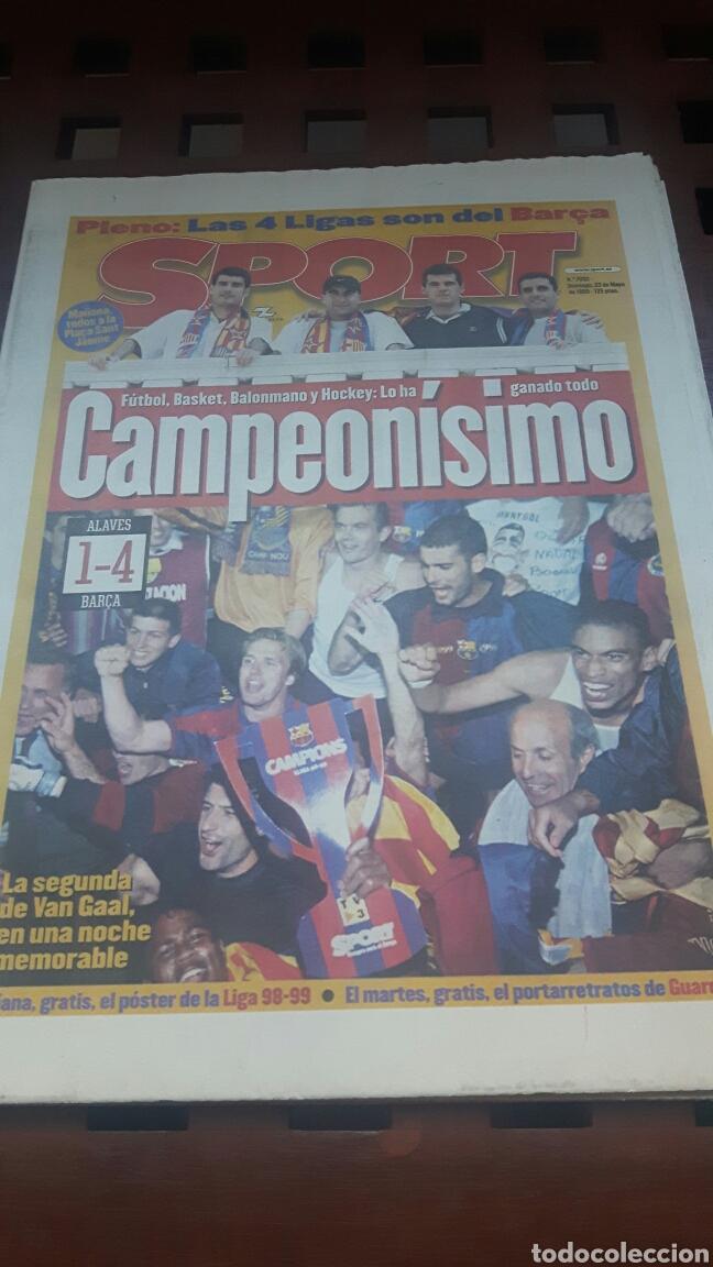 BARÇA CAMPEON DE LIGA 1999 (Coleccionismo Deportivo - Revistas y Periódicos - Sport)
