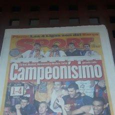 Coleccionismo deportivo: BARÇA CAMPEON DE LIGA 1999. Lote 181132812
