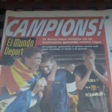 Coleccionismo deportivo: BARÇA CAMPEON DE LIGA 1999. Lote 181132961