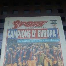 Coleccionismo deportivo: BARÇA CAMPEON COPA DE EUROPA WEMBLEY 1992. Lote 181133880