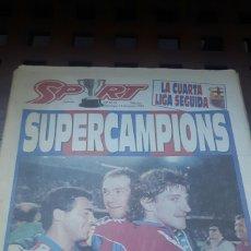 Coleccionismo deportivo: BARÇA CAMPEON DE LIGA 1994. Lote 181134266