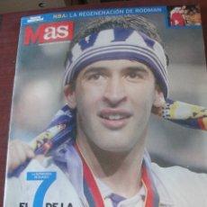 Coleccionismo deportivo: MAS AS 30 MAYO 1998 / EL 7 DE LA SEPTIMA - COPA DE EUROPA REAL MADRID / RAUL - SIN USAR - IMPECABLE . Lote 181137393
