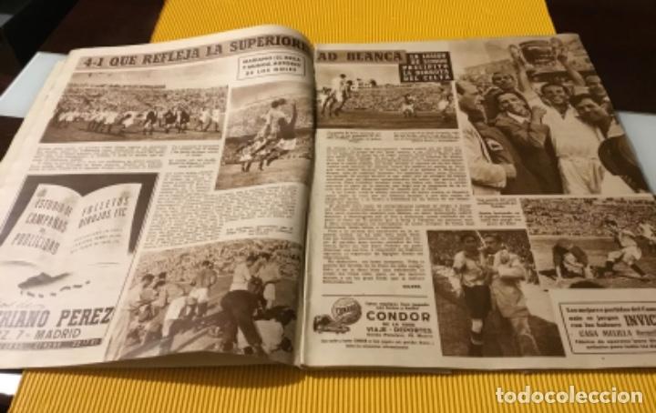 Coleccionismo deportivo: Sevilla campeón de la copa 1948 semanario marca totalmente original - Foto 6 - 181142366