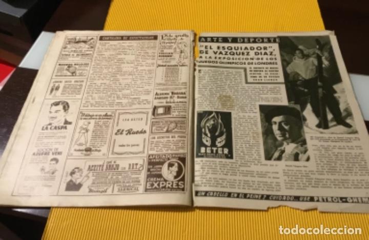 Coleccionismo deportivo: Sevilla campeón de la copa 1948 semanario marca totalmente original - Foto 9 - 181142366
