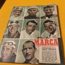 Coleccionismo deportivo: CICLISMO MARCA 1951 VENCEDORES DE LA VUELTA FRANCIA. Lote 181142632