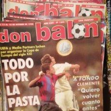 Coleccionismo deportivo: DON BALON AÑO 1998. LOTE 30 REVISTAS SEMANAL.. Lote 181159632