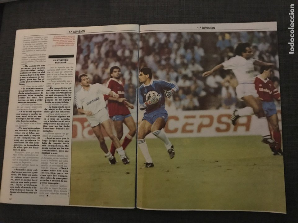 Coleccionismo deportivo: Don balon número 680 - póster Elche - Schuster - Baltazar - Chilavert - Foto 4 - 132318503