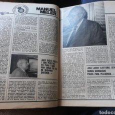 Coleccionismo deportivo: ENTREVISTA A MANUEL MELER , PRESIDENTE DEL RCD ESPAÑOL - AÑO 1982 - 4 PAGINAS. Lote 181472842