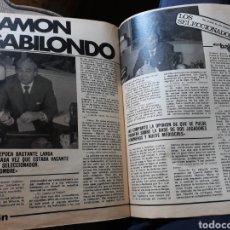 Coleccionismo deportivo: ENTREVISTA A RAMON GABILONDO , SELECCIONADOR NACIONAL - 4 PÁGINAS AÑO 1982. Lote 181474006
