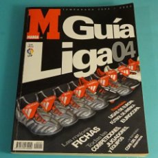 Coleccionismo deportivo: GUÍA DE FÚTBOL. GUÍA DE LA LIGA 04. MARCA. Lote 181849883