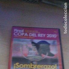 Coleccionismo deportivo: DVD FINAL COPA DEL REY 2010 SEVILLA FC ATLÉTICO DE MADRID - SOMBRERAZO FÚTBOL DEPORTE HISTORIA CLUB. Lote 181984485