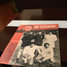 Coleccionismo deportivo: ANTIGUO SEMANARIO MARCA AÑO 1962 TOTALMENTE ORIGINAL MUY BUEN ESTADO. Lote 182036262