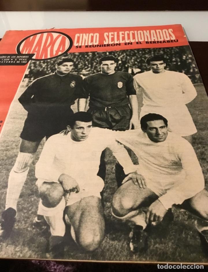 Coleccionismo deportivo: Antiguo semanario marca año 1962 Totalmente original muy buen estado - Foto 2 - 182036262