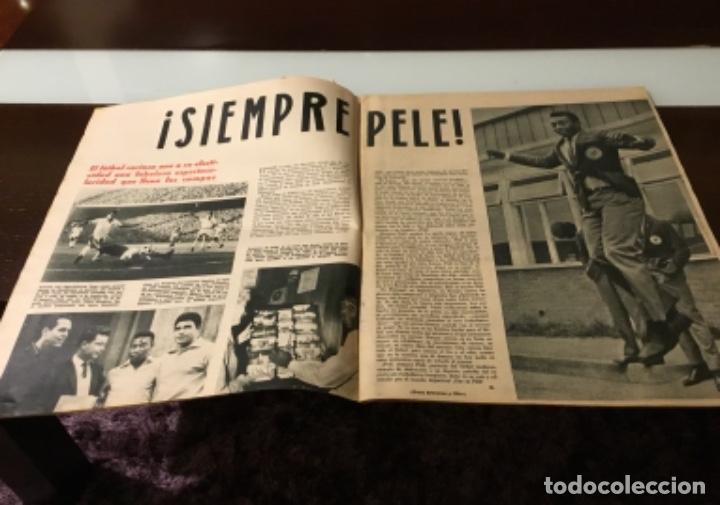 Coleccionismo deportivo: Antiguo semanario marca año 1962 Totalmente original muy buen estado - Foto 4 - 182036262