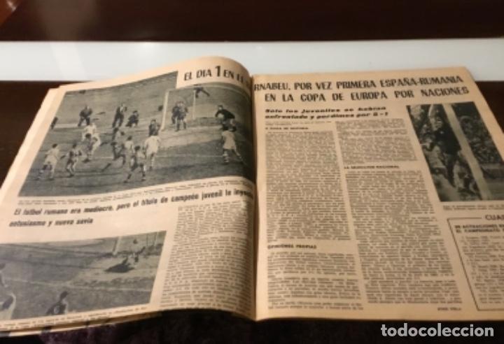 Coleccionismo deportivo: Antiguo semanario marca año 1962 Totalmente original muy buen estado - Foto 5 - 182036262