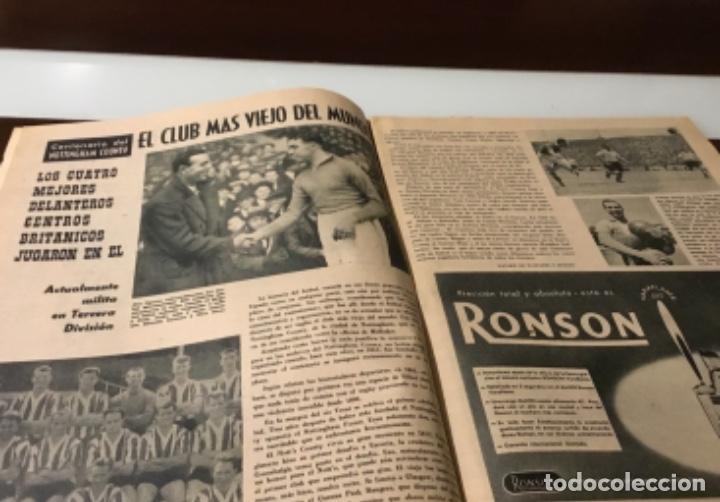 Coleccionismo deportivo: Antiguo semanario marca año 1962 Totalmente original muy buen estado - Foto 6 - 182036262