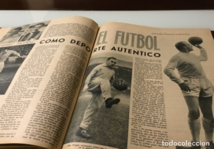Coleccionismo deportivo: Antiguo semanario marca año 1962 Totalmente original muy buen estado - Foto 7 - 182036262