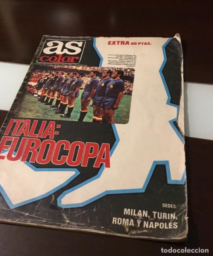 EXTRA AS ITALIA EUROCOPA POSTER SELECCION ESPAÑOLA 1964 (Coleccionismo Deportivo - Revistas y Periódicos - As)