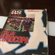 Coleccionismo deportivo: EXTRA AS ITALIA EUROCOPA POSTER SELECCION ESPAÑOLA 1964. Lote 182136251