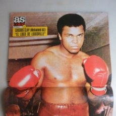 Coleccionismo deportivo: POSTER Nº 26 REVISTA AS COLOR CASSIUS CLAY MIHAMED ALI . REVISTA Nº 26 1973. Lote 182165653