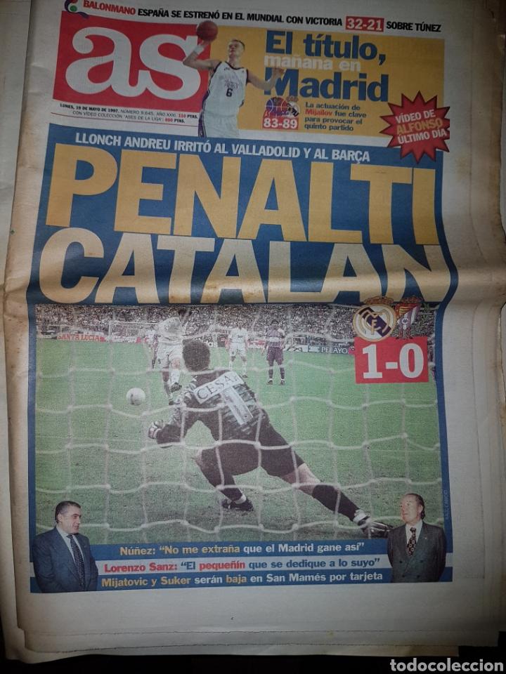 Coleccionismo deportivo: Lote de 38 ejemplares del AS año 1997 - Foto 9 - 179182161