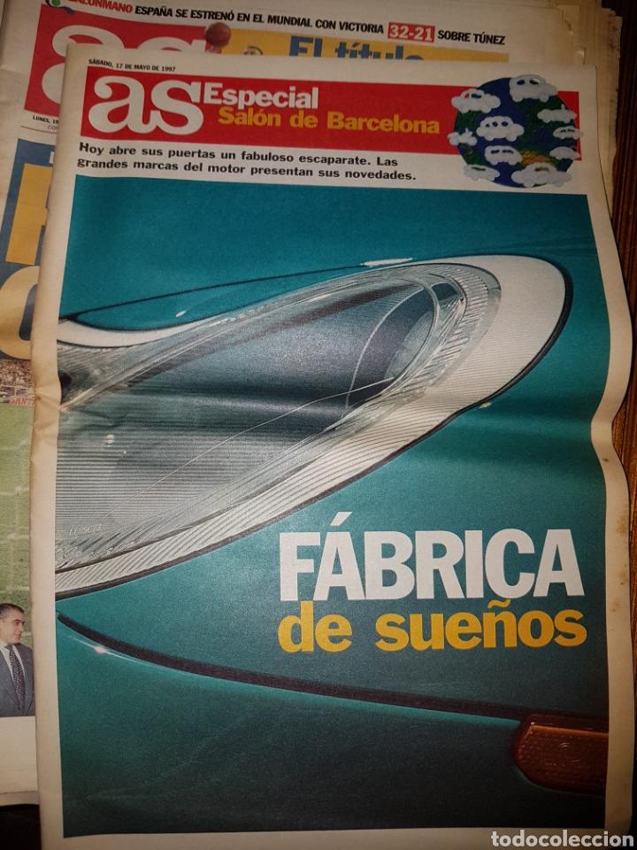 Coleccionismo deportivo: Lote de 38 ejemplares del AS año 1997 - Foto 10 - 179182161