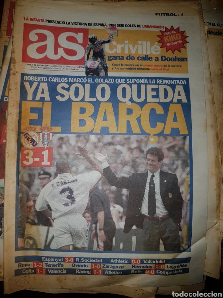 Coleccionismo deportivo: Lote de 38 ejemplares del AS año 1997 - Foto 15 - 179182161