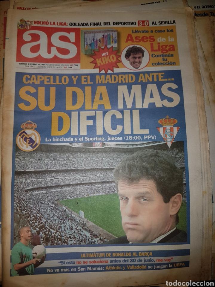 Coleccionismo deportivo: Lote de 38 ejemplares del AS año 1997 - Foto 16 - 179182161