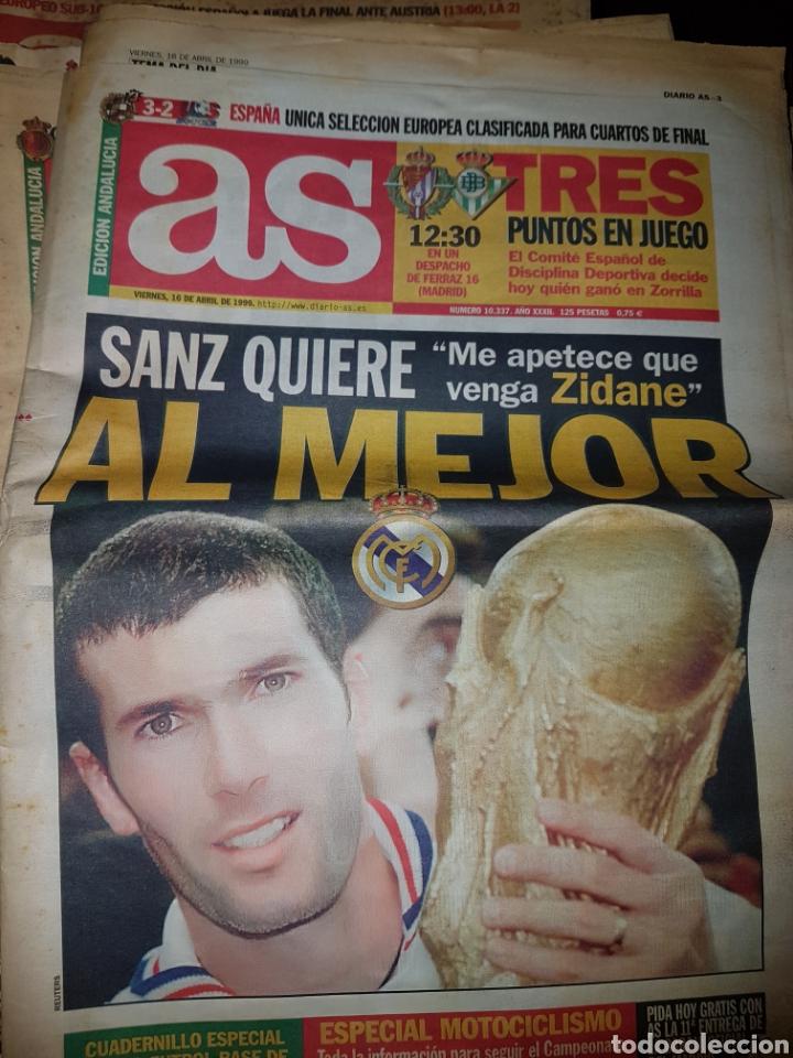Coleccionismo deportivo: Lote de 38 ejemplares del AS año 1997 - Foto 27 - 179182161