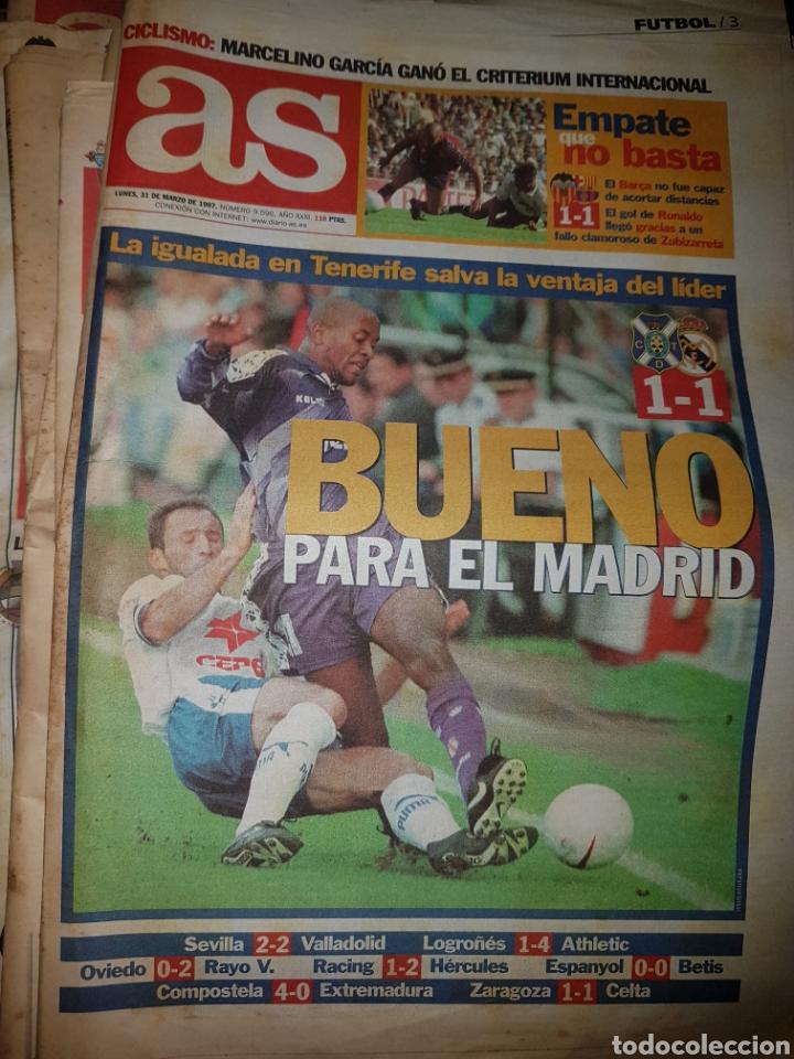 Coleccionismo deportivo: Lote de 38 ejemplares del AS año 1997 - Foto 33 - 179182161