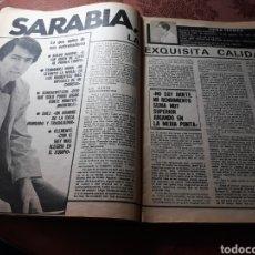 Coleccionismo deportivo: ENTREVISTA A MANU SARABIA - 4 PAGINAS AÑO 1982. Lote 182384771